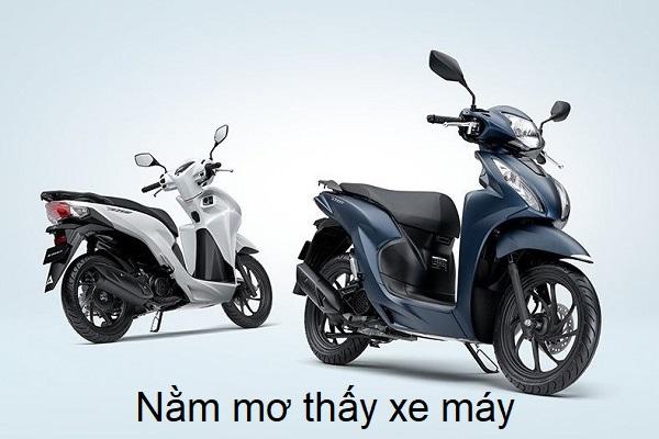 mo thay xe may 1 - Nằm mơ thấy xe máy điềm báo gì? Đánh con gì?