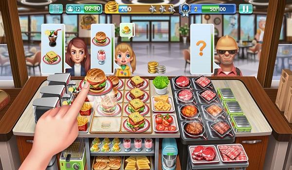 top game nau an hay nhat tren dien thoai 3 - Top 10 game nấu ăn hay nhất trên điện thoại