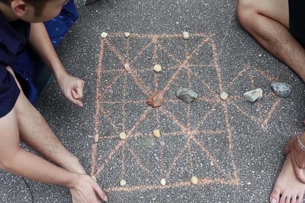 cach choi co ganh 1 - Hướng dẫn cách chơi cờ gánh (cờ chém) dân gian
