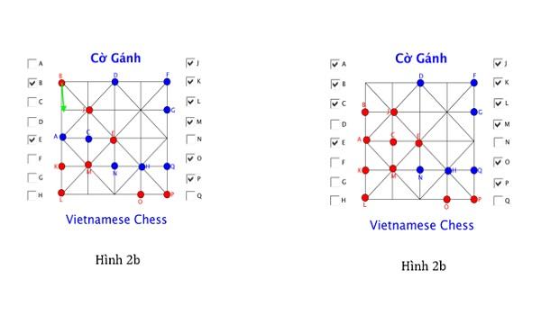 cach choi co ganh 5 - Hướng dẫn cách chơi cờ gánh (cờ chém) dân gian