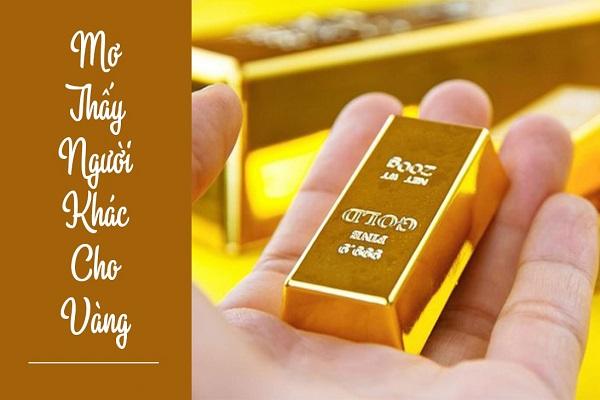 mo thay vang 1 - Nằm mơ thấy vàng là điềm báo gì? Đánh con gì?