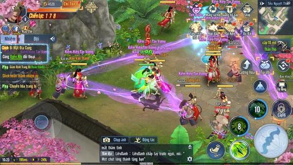 top game kiem hiep mobile hay nhat 3 - Top 10 game kiếm hiệp mobile hay, nhiều người chơi nhất