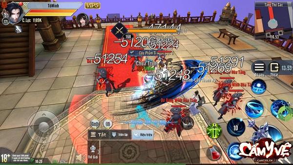 top game kiem hiep mobile hay nhat 7 - Top 10 game kiếm hiệp mobile hay, nhiều người chơi nhất